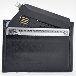 ChargeCard: The Credit Card-Sized Lightning Cable for $24.99