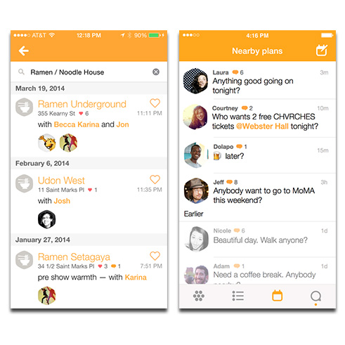 Foursquare's new look: Swarm