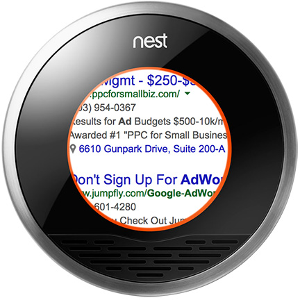 Google Ads could come to future Nest thermostat models