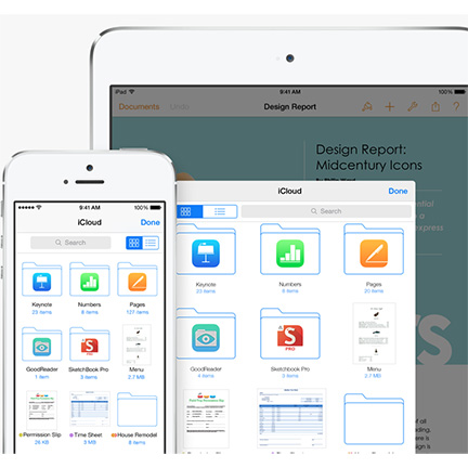Apple's iCloud Drive offers Dropbox-like file sharing and syncing