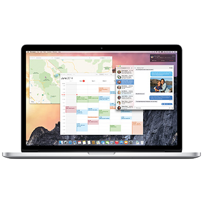 Apple's new look for OS X Yosemite, due this fall