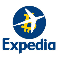 Expedia and Bitcoin