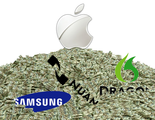 Apple, Samsung, Nuance, and Money