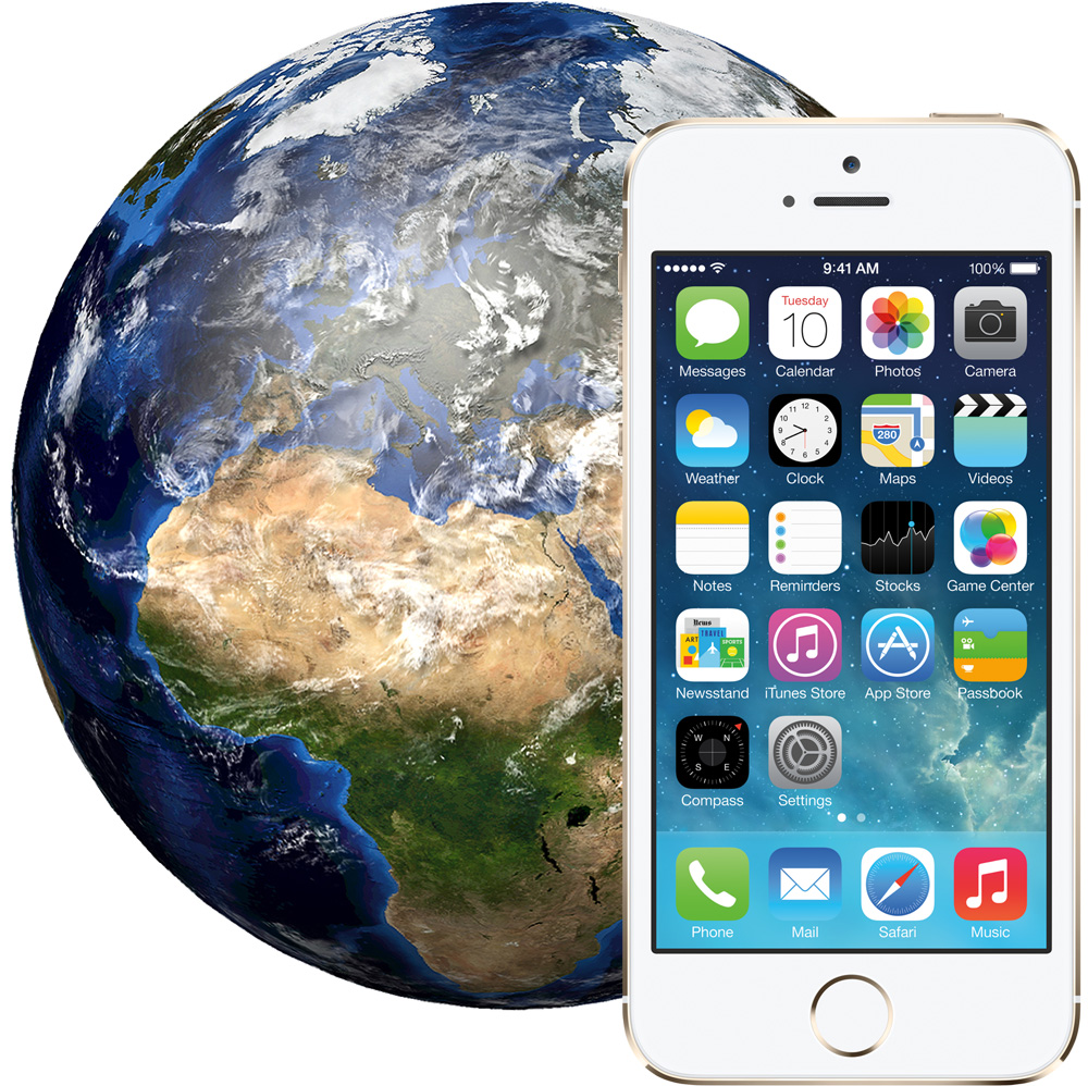 iPhone 5S is the top selling smartphone around the world