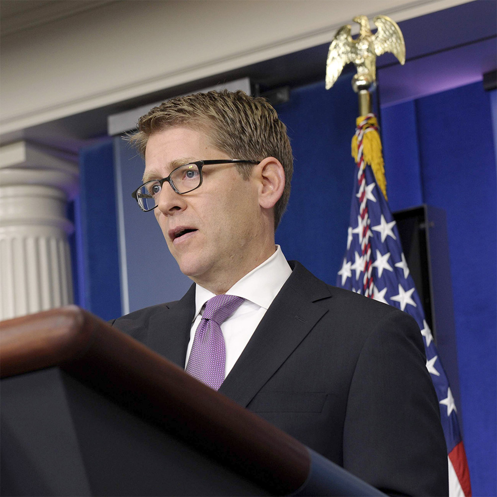 Apple said to be considering Jay Carney to replace Katie Cotton