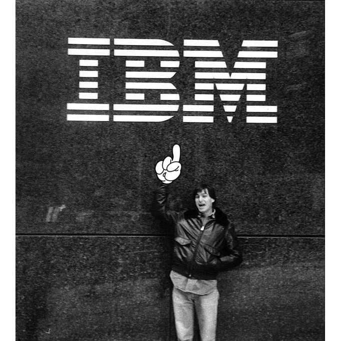 Five Times When Steve Jobs Dissed IBM