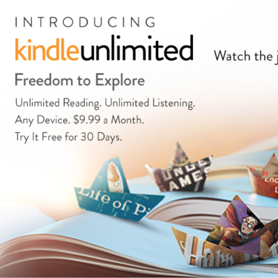 Amazon intros Kindle Unlimited ebook subscription service