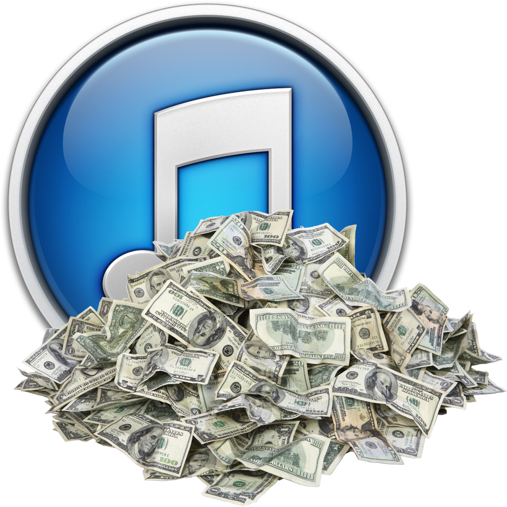 Apple's iTunes the big name in quarterly growth