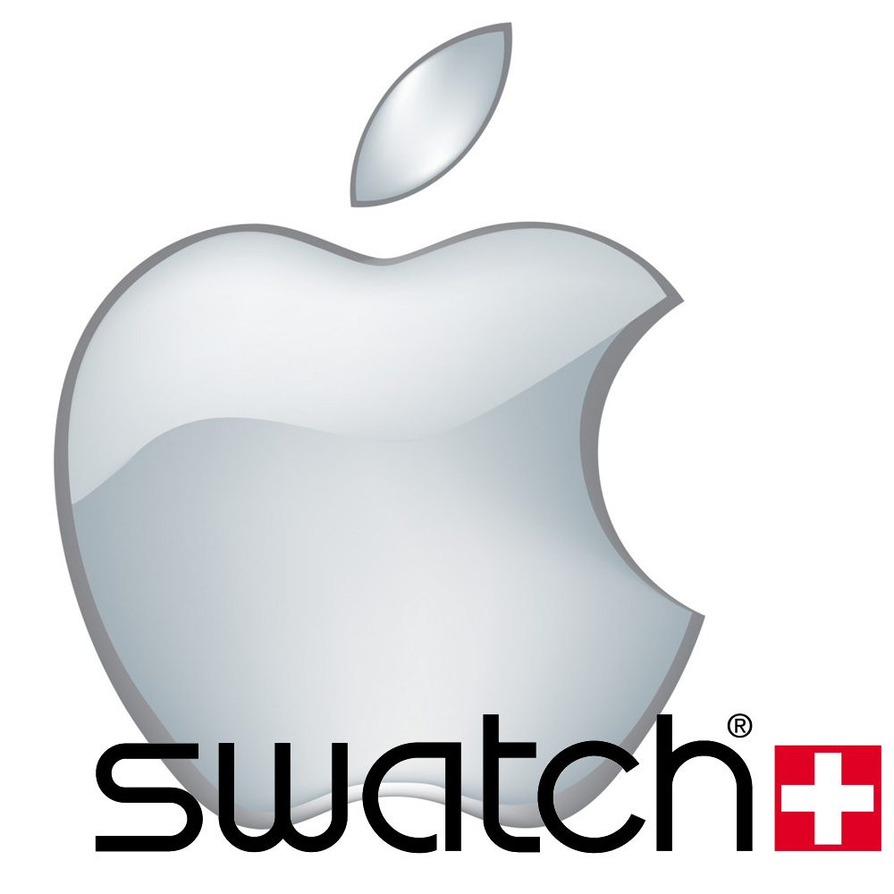 Swatch/Apple iWatch team up? Not likely.