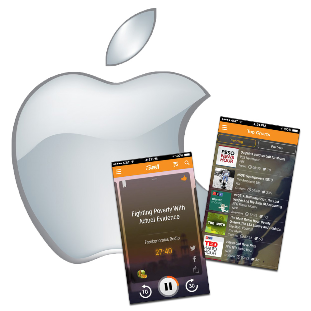 Apple buying Swell news radio app