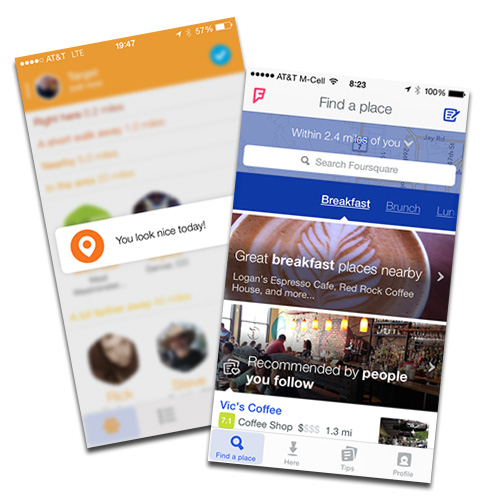 Foursquare and Swarm are tracking you everywhere you go