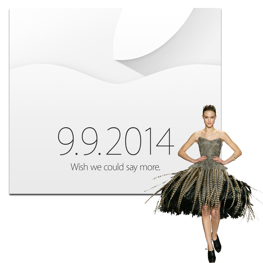 Apple invites fashion editors and bloggers to Sept 9 media event