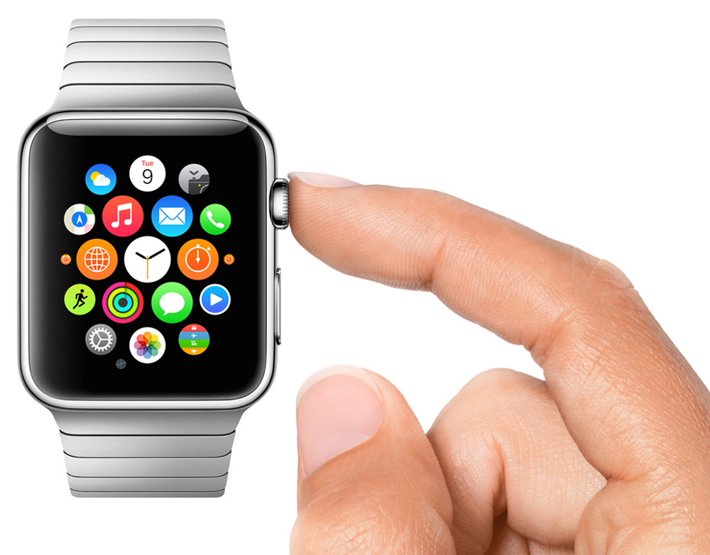 Apple Watch Digital Crown Patent Surfaces in Europe