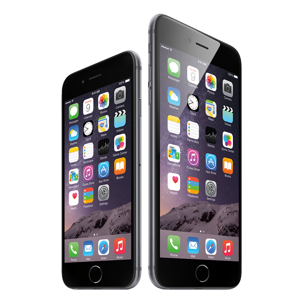 Apple's new iPhone lineup: iPhone 6 and iPhone 6 Plus