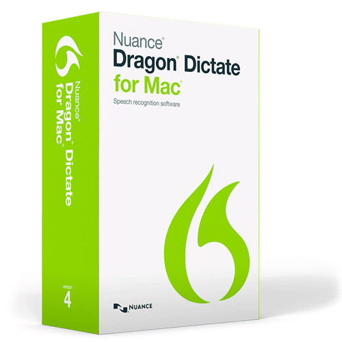Dragon Dictate for Mac 4: $99.99