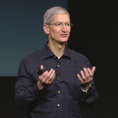 Apple CEO Tim Cook ranked as one of TIME's most influential people for 2015