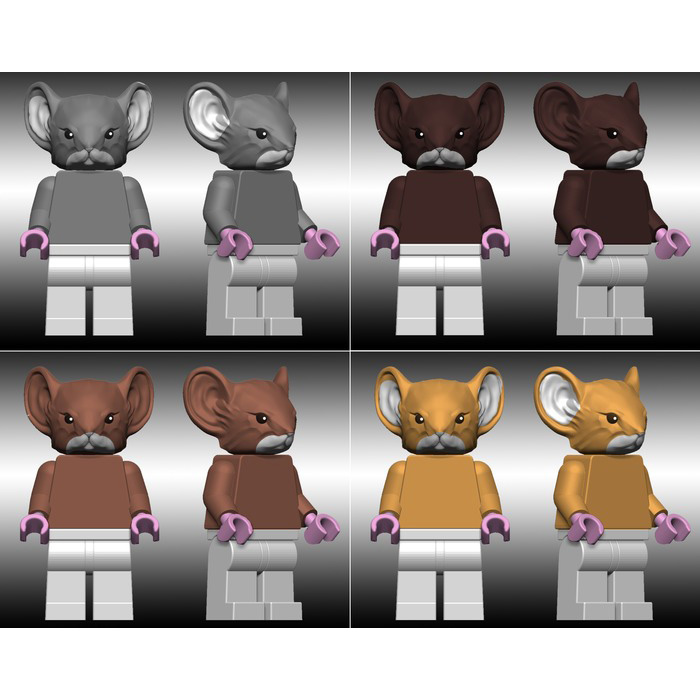 Kickstarter Project: Mouse Guard LEGO Mini Figures