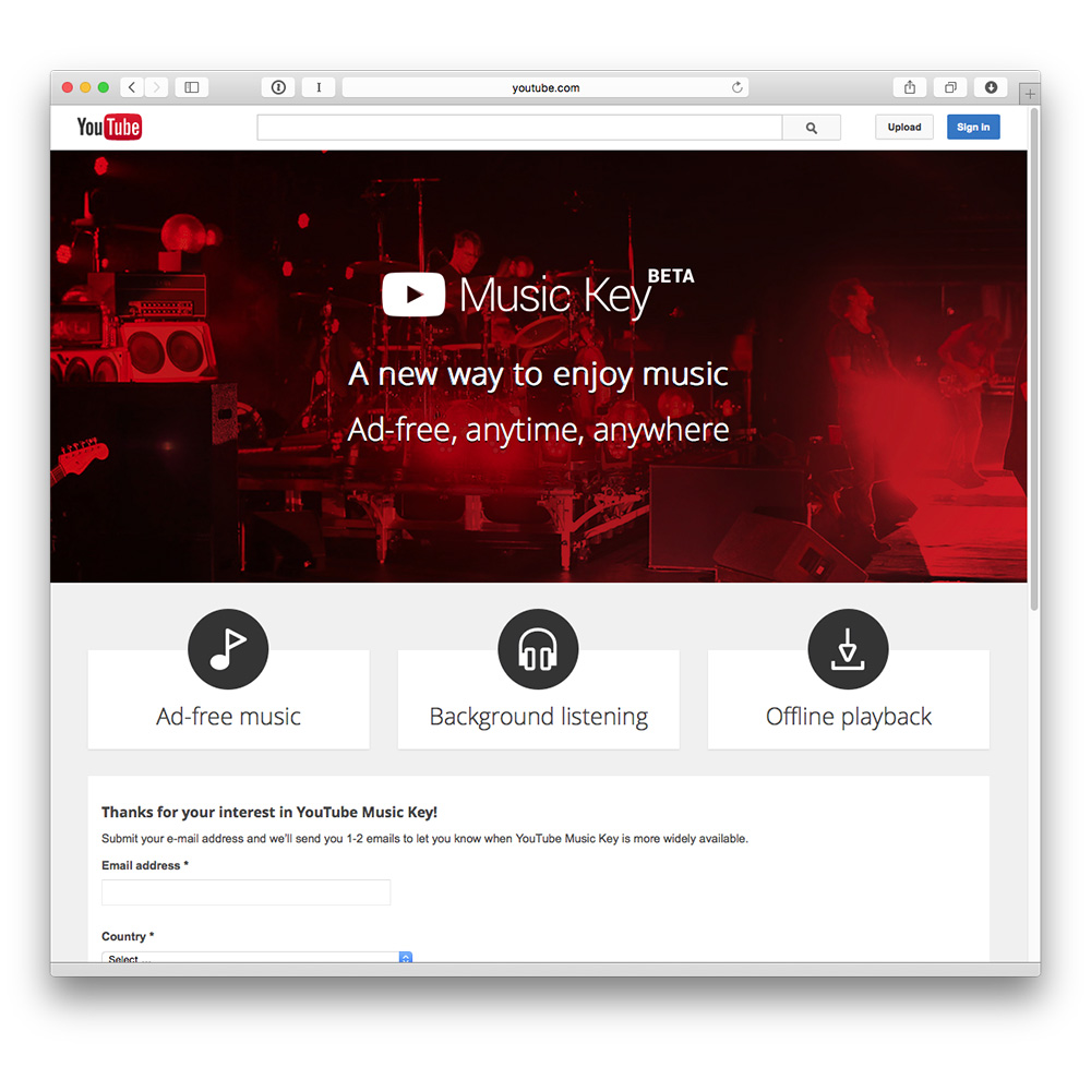 YouTube Music Key set to take on Spotify, iTunes Radio