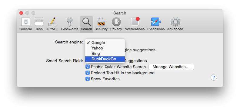 duckduckgo mac