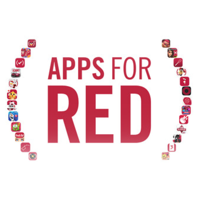 Apple Launches Apps for (RED)