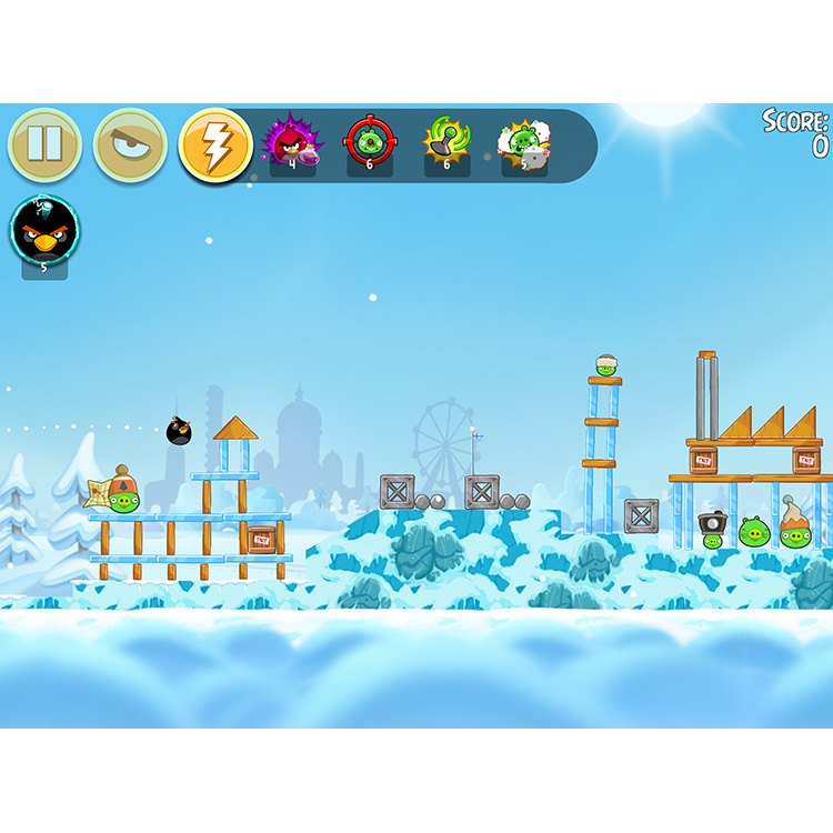 Angry Birds Seasons goes to Finland for the Holidays