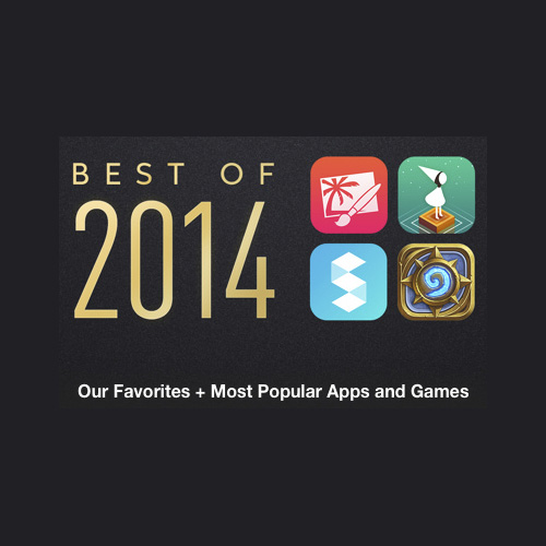 Apple's best of list for the iTunes Store for 2014