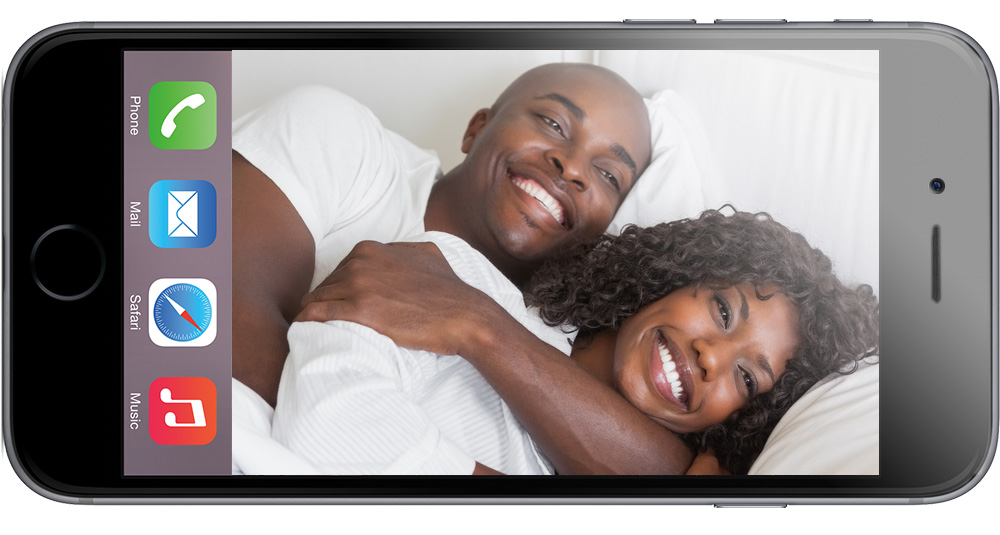 Snuggling is great, but is it right for the iPhone?