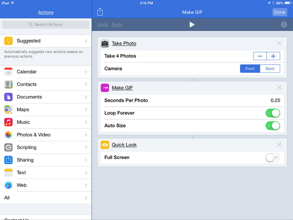 Want to automate actions on your iPhone or iPad? Workflow has you covered.