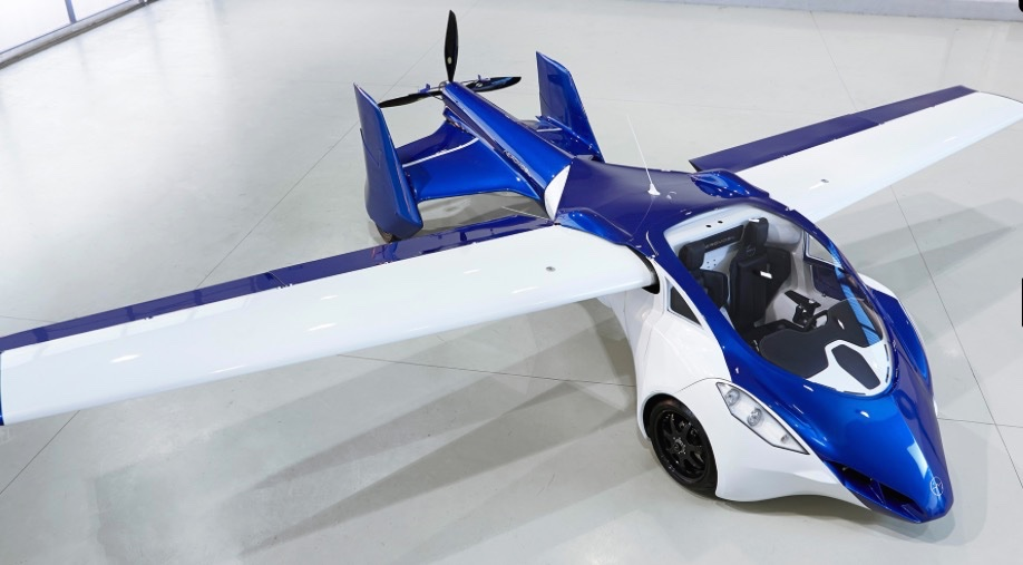 The Next Generation Flying Car from Aeromobil