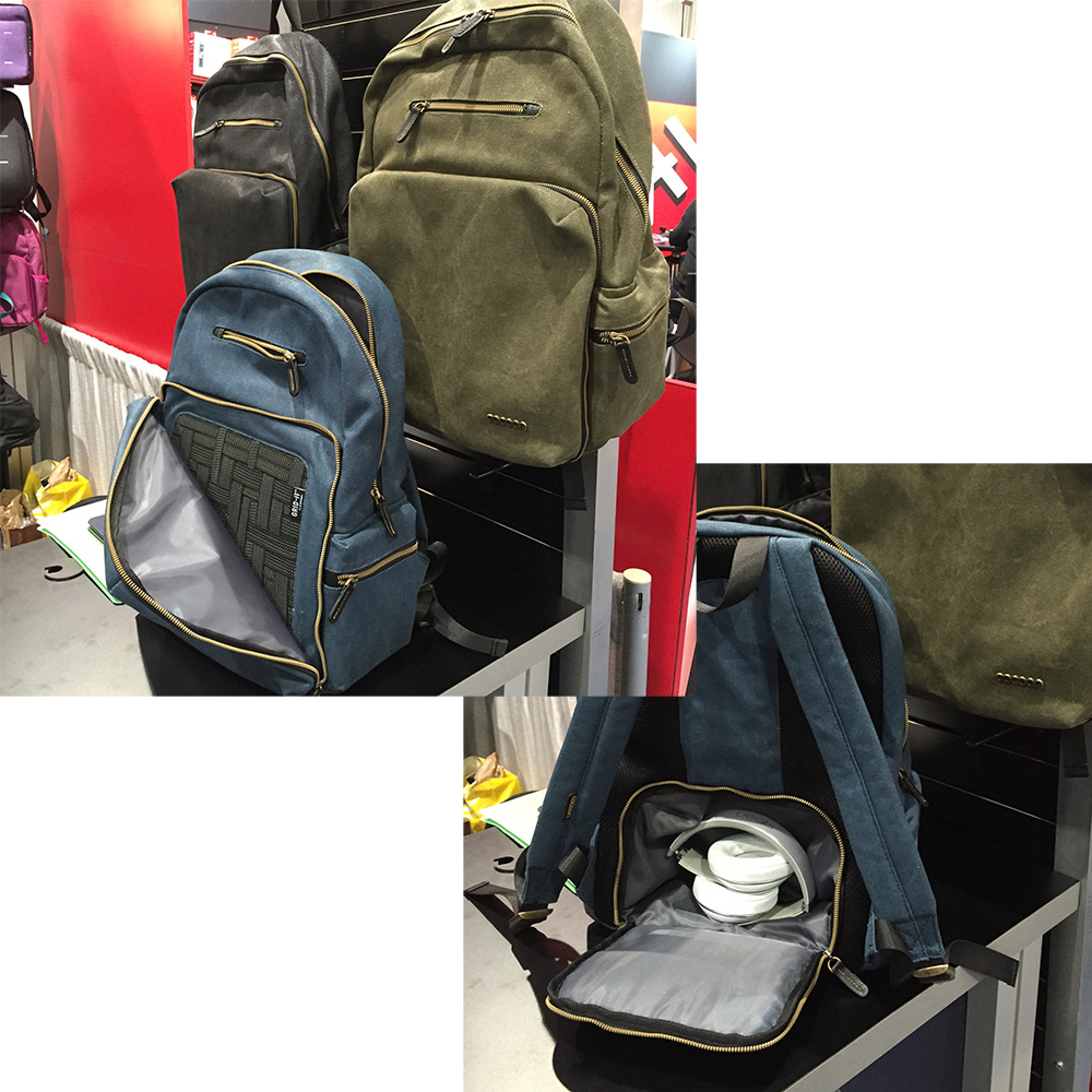 Cocoon gets Hip with Waxed Canvas Laptop Organizer Backpack