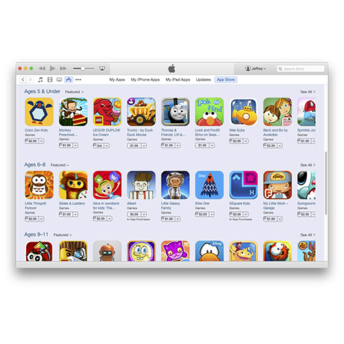 Apple's App Store Adds Games for Kids Grouping for iPhone, iPad