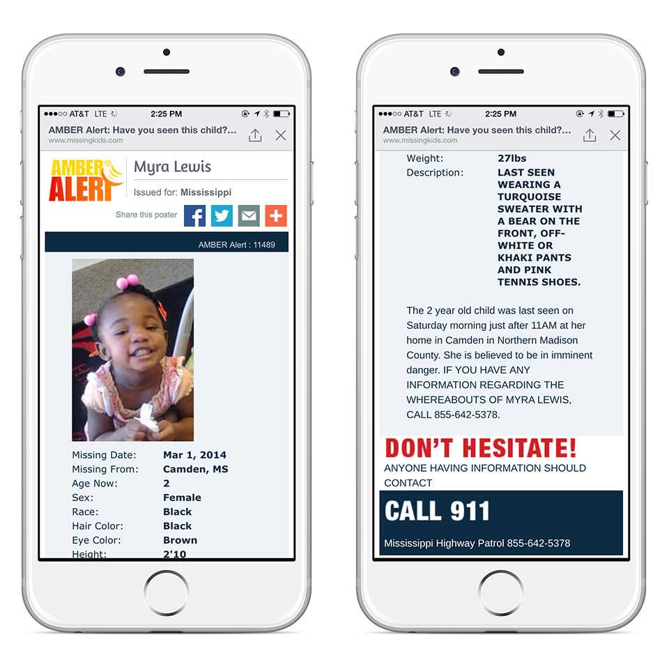 Facebook adds AMBER Alerts to user's news feeds