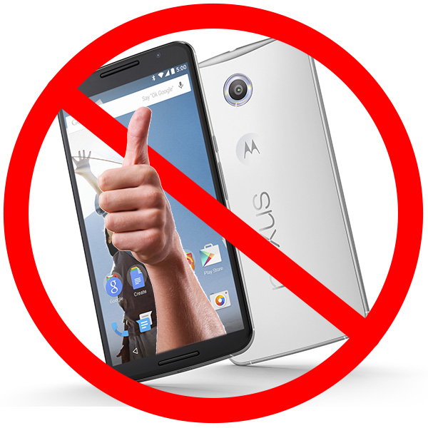 Touch ID on Nexus 6: Denied