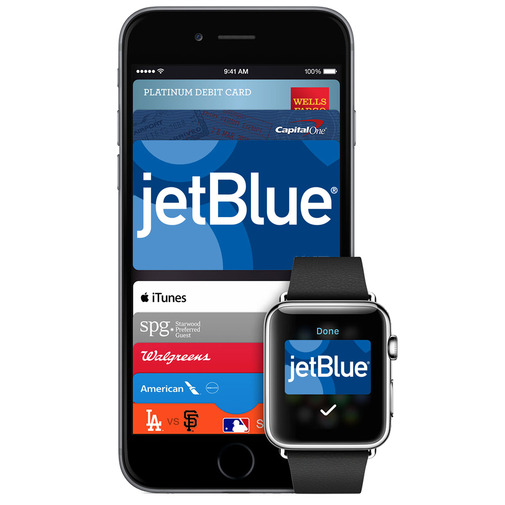 JetBlue is the first airline to offer Apple Pay support