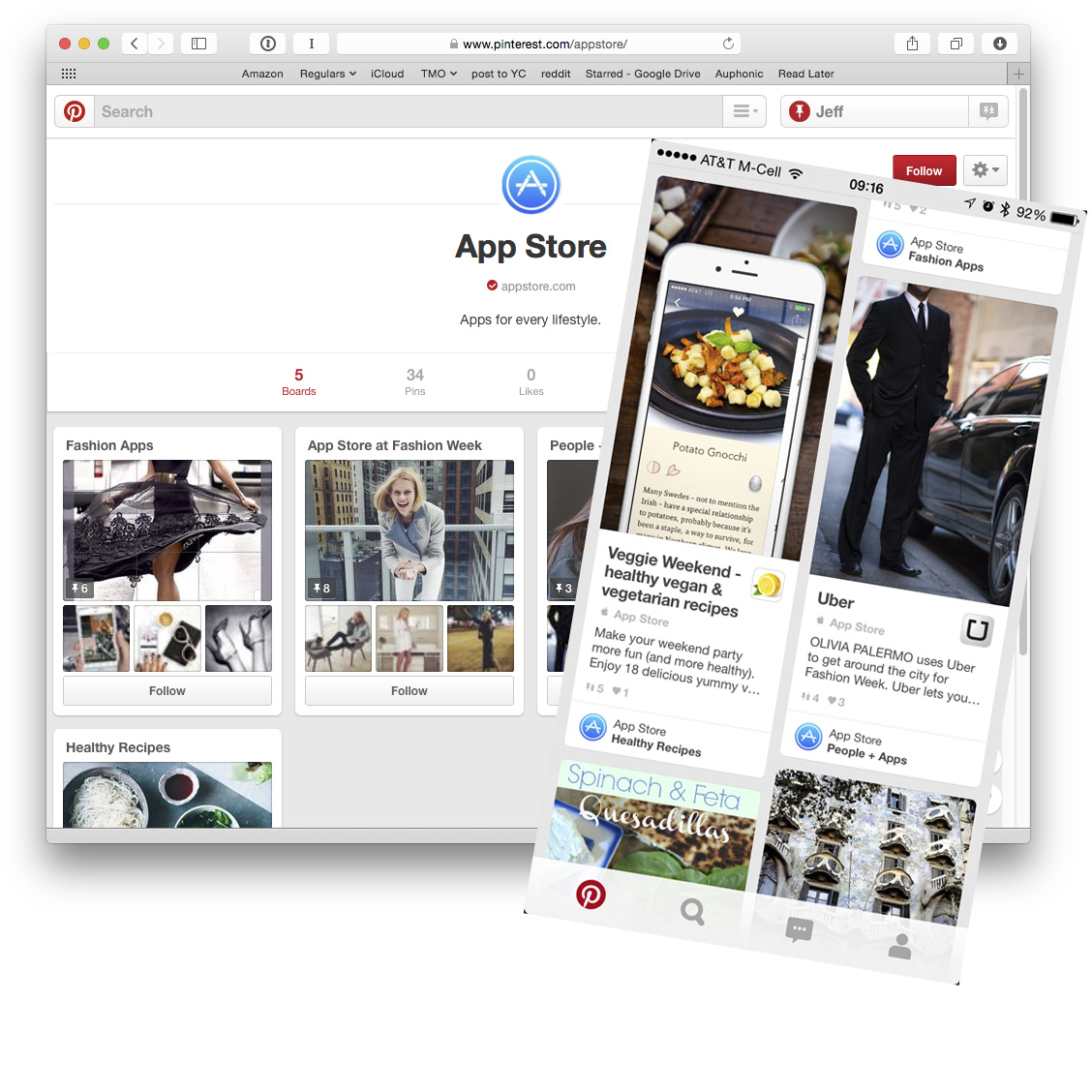 Apple turns to Pinterest for easier app discovery