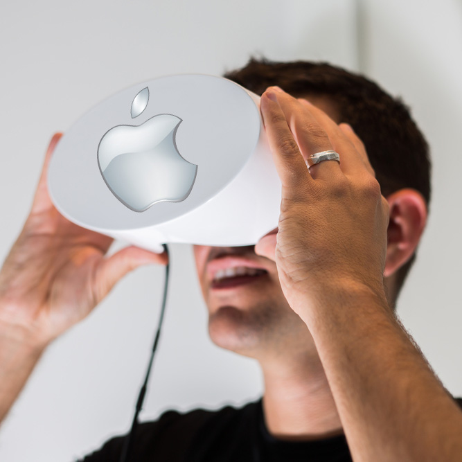 Apple lands virtual reality headset patent