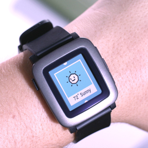 Pebble's new Time smart watch with color display to ship in May