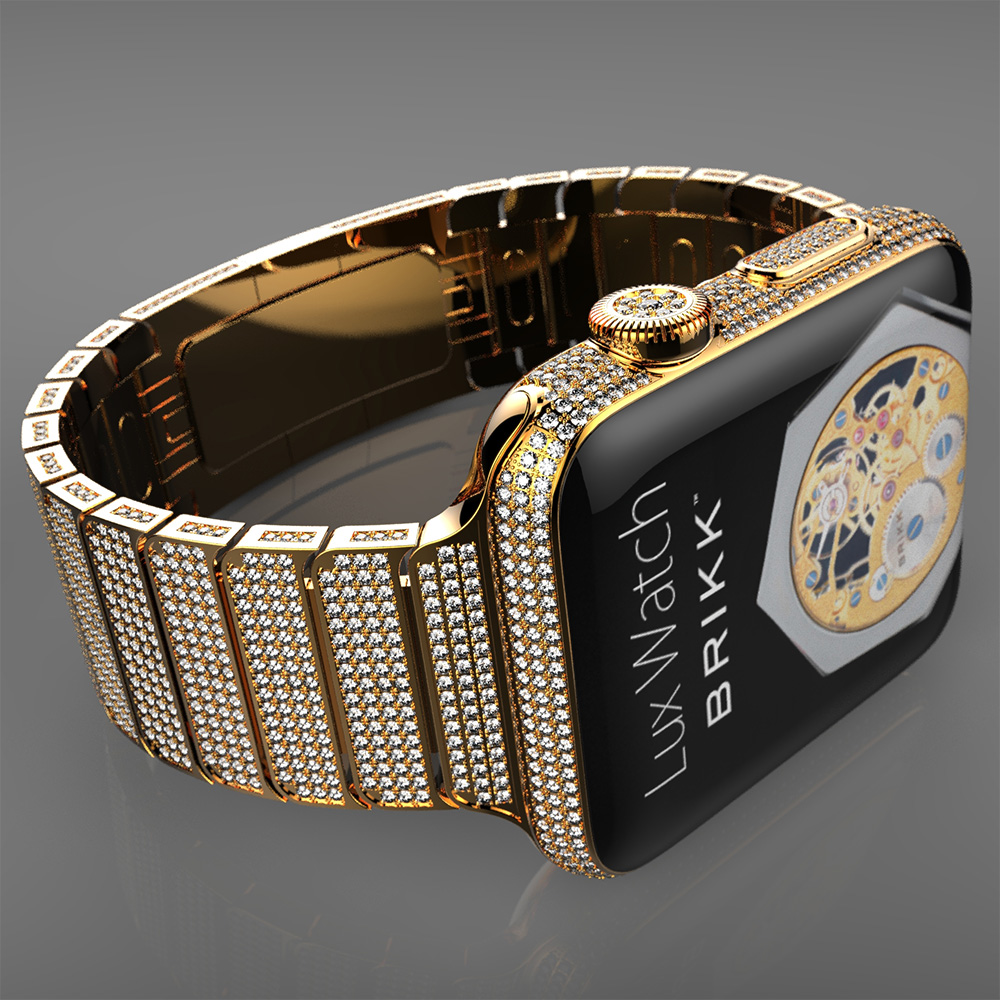 Brikk To Sell Diamond Coated Apple Watch For 75k The