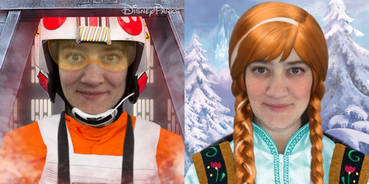 Disney Side Lets You Dress Your Selfie Up as a Disney Character
