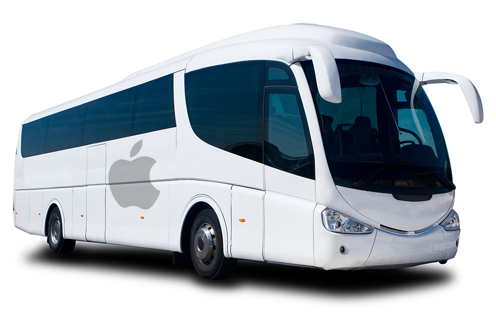 Apple give contract bus drivers a pay raise