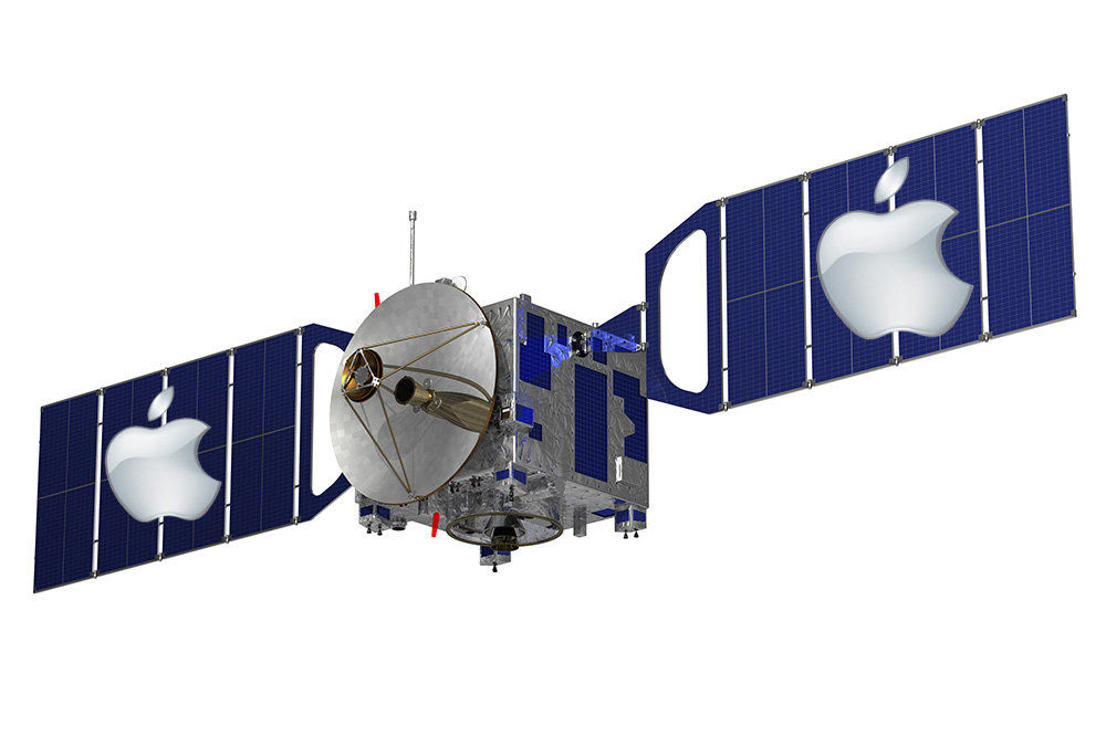 Apple may want its own satellite