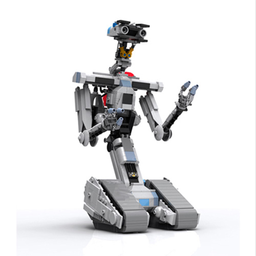 LEGO Ideas Proposal Makes it Easy to Disassemble Johnny 5
