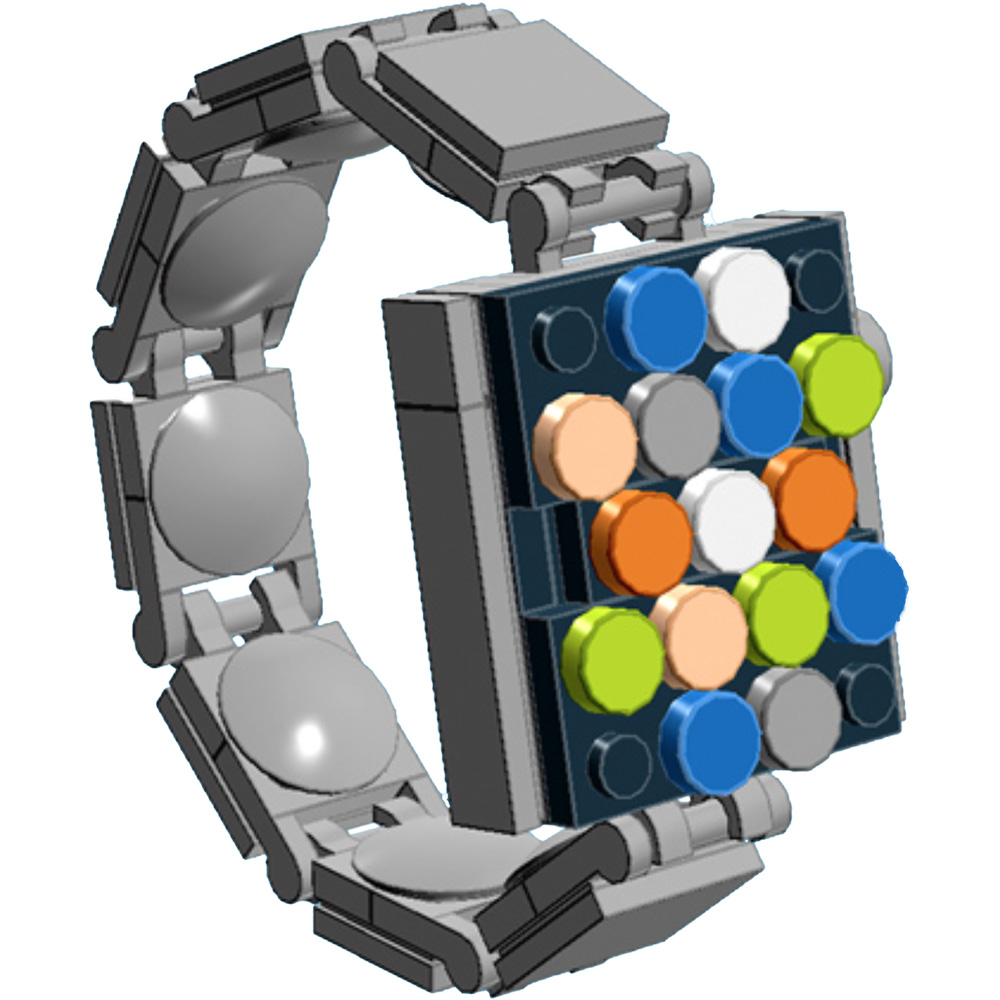 Want an Apple Watch Today? Make Your Own with LEGO