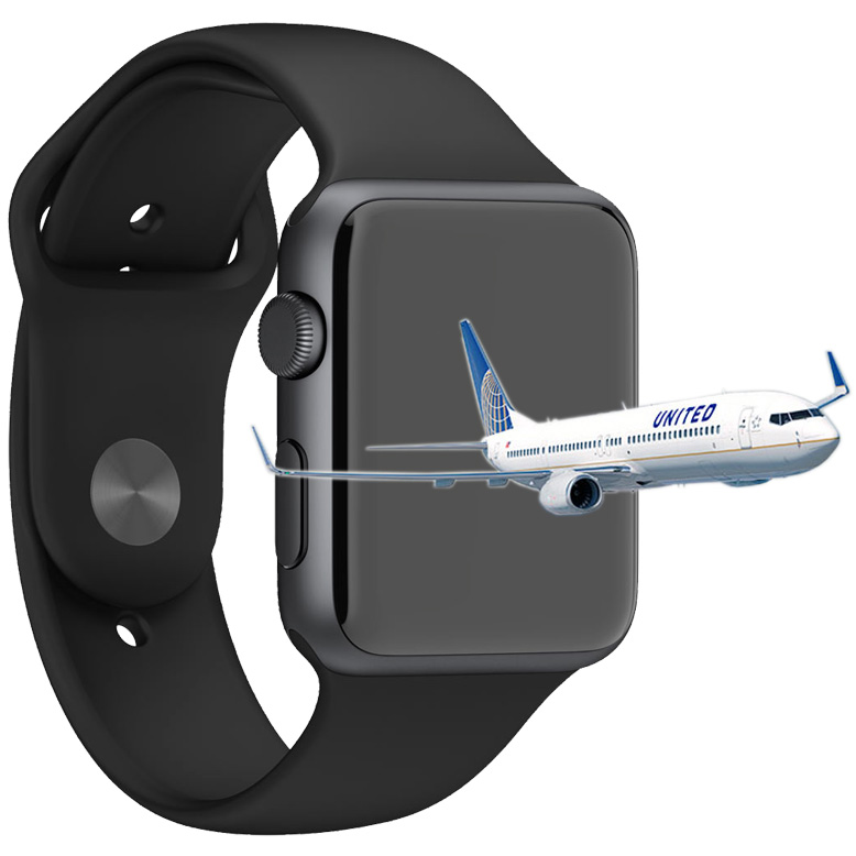 Airlines getting onboard with Apple Watch support