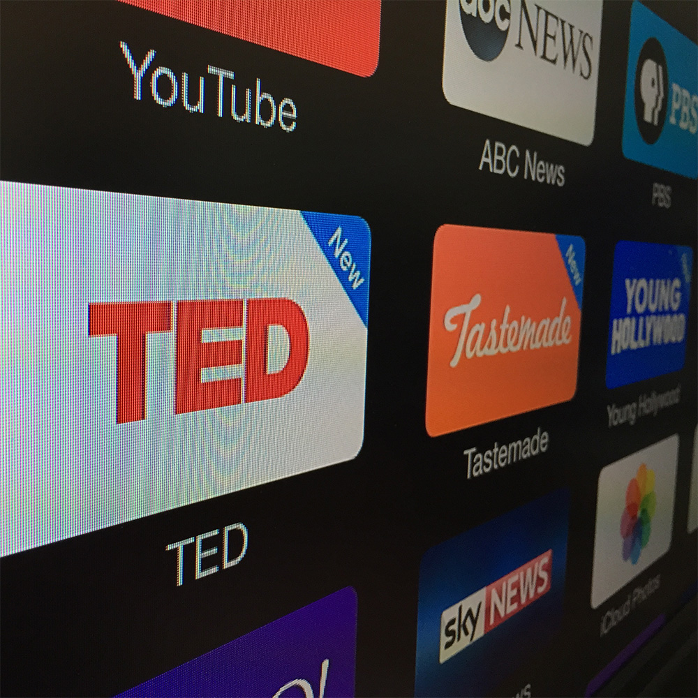 TED Talks now available on Apple TV