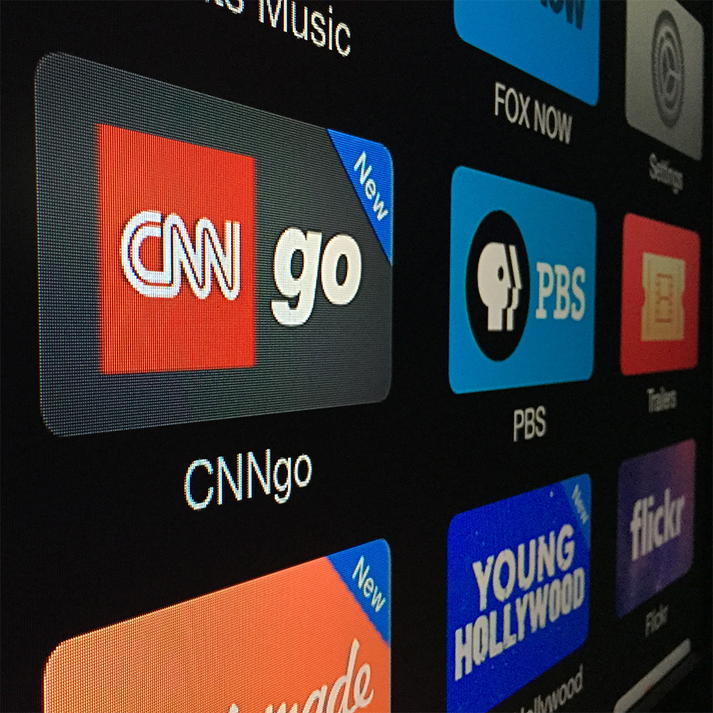 CNNgo comes to Apple TV