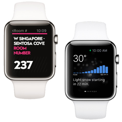 Apple Watch apps now in the App Store