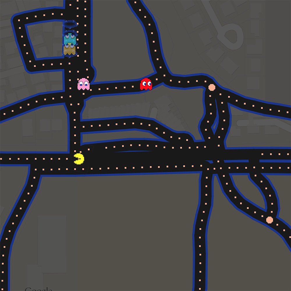Google Maps Brings Pac-Man to Your Neighborhood