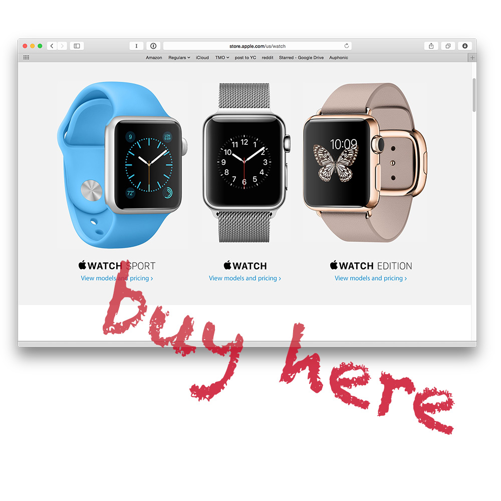 Want an Apple Watch? You'll have to buy it online