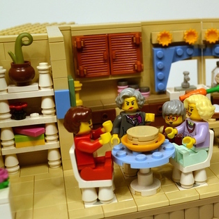 LEGO Ideas Golden Girls Submission